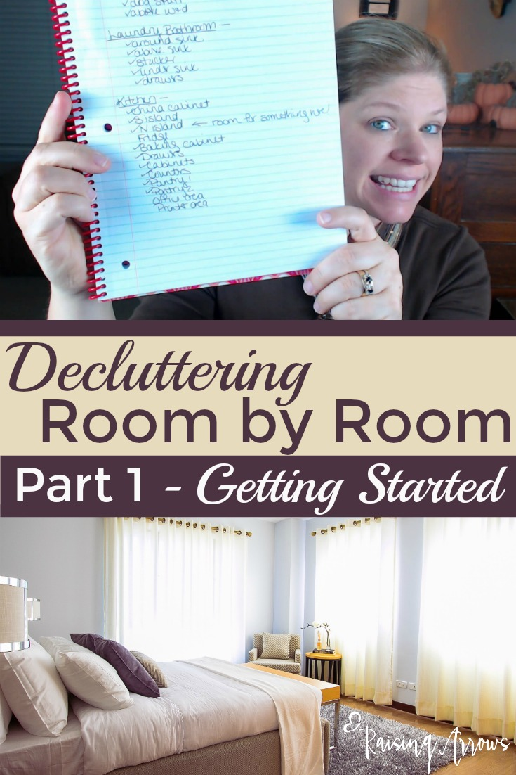 A no nonsense approach to decluttering! Jump in right where you are and get started today!