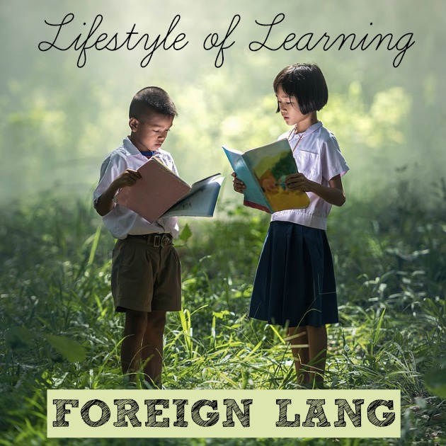 How to integrate real life into your homeschooling to create a lifestyle of learning! How to make foreign language a part of your every day learning!