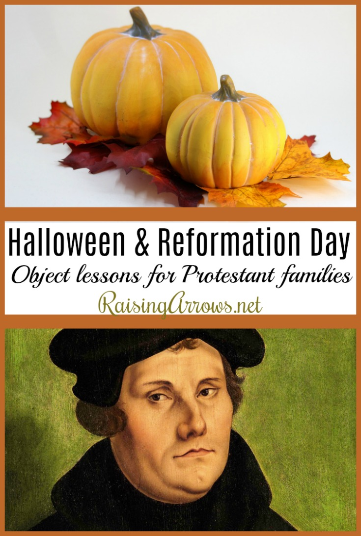 Bring Biblical meaning to October 31 by sharing these object lessons and historical truths with your family!
