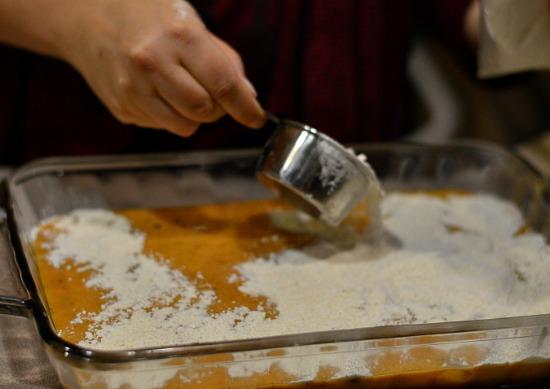 Pumpkin Crumble Cake - simple crowd pleaser recipe!