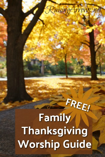 FREE Thanksgiving Worship Guide!