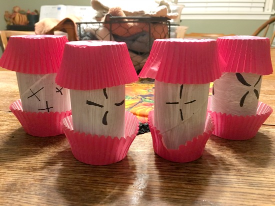 Apple Craft from Large Family Homeschooling week in review 11/3/17