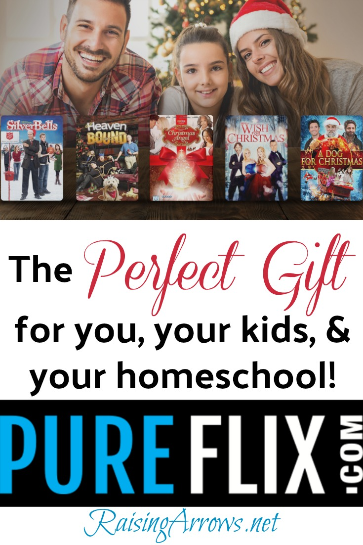 Looking for a fantastic family gift for Christmas this year?  Let me suggest PureFlix!  This family friendly streaming service is WAY MORE than just movies...