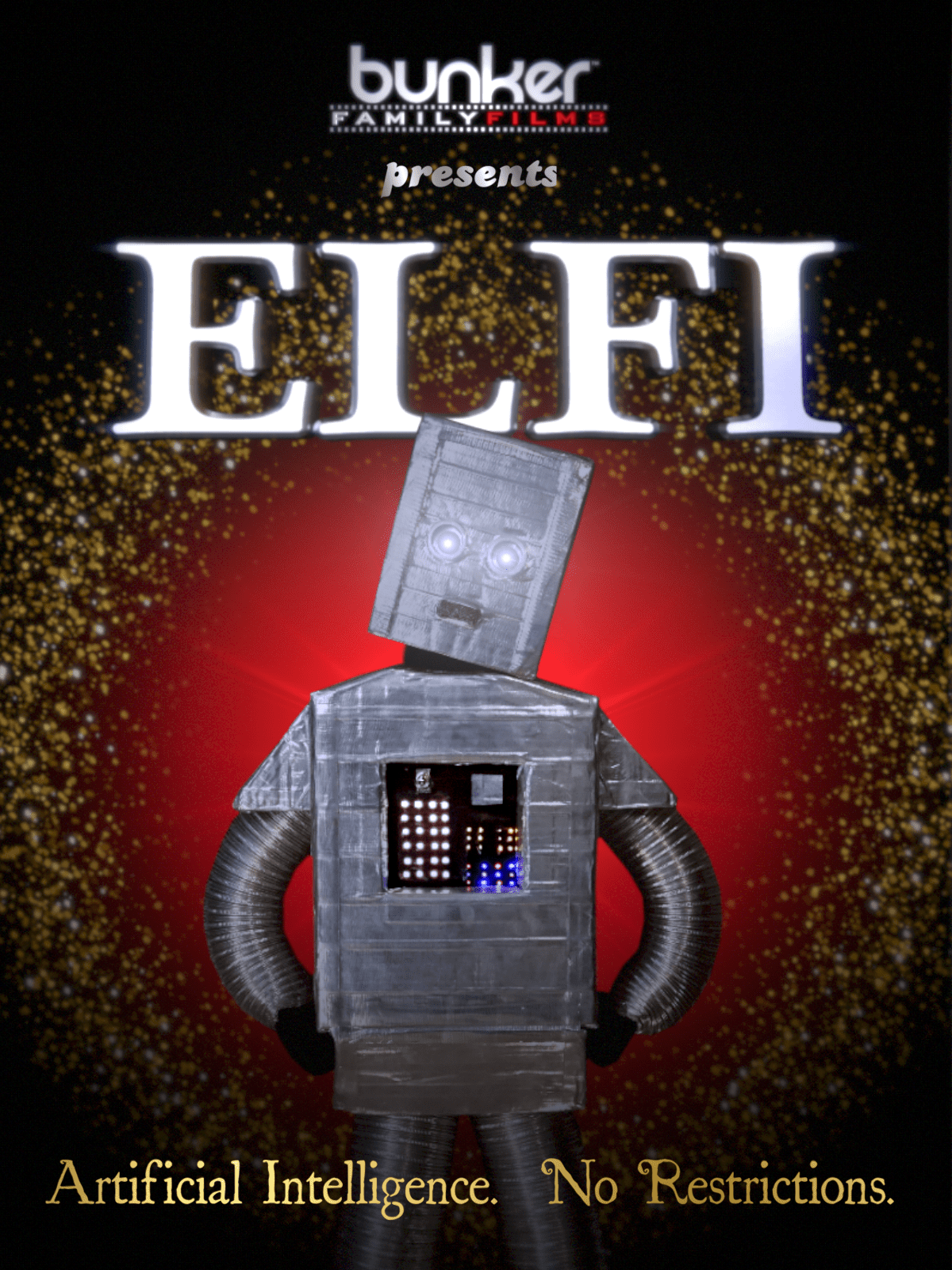 ELFI - short film from homeschooled teen with fantastic computer generated imagery (CGI)! Christmas Sale!