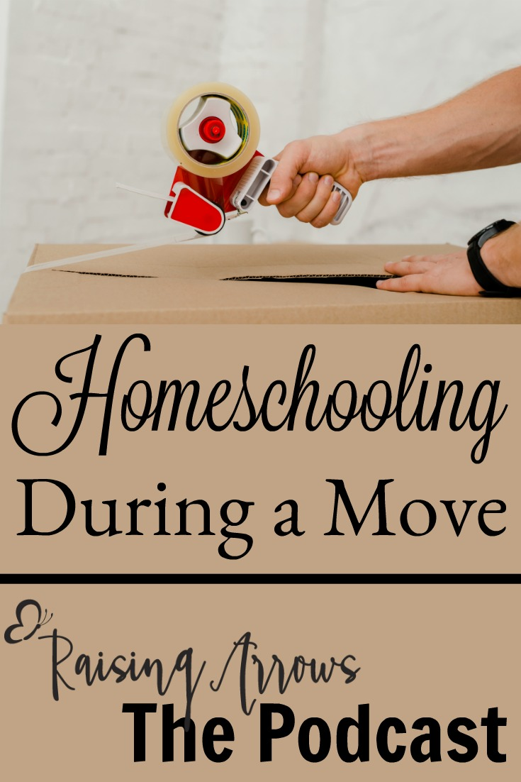 Homeschooling during a move can be difficult - here are some great tips for smoothing the transition!