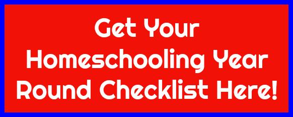 Homeschooling Year Round Checklist!