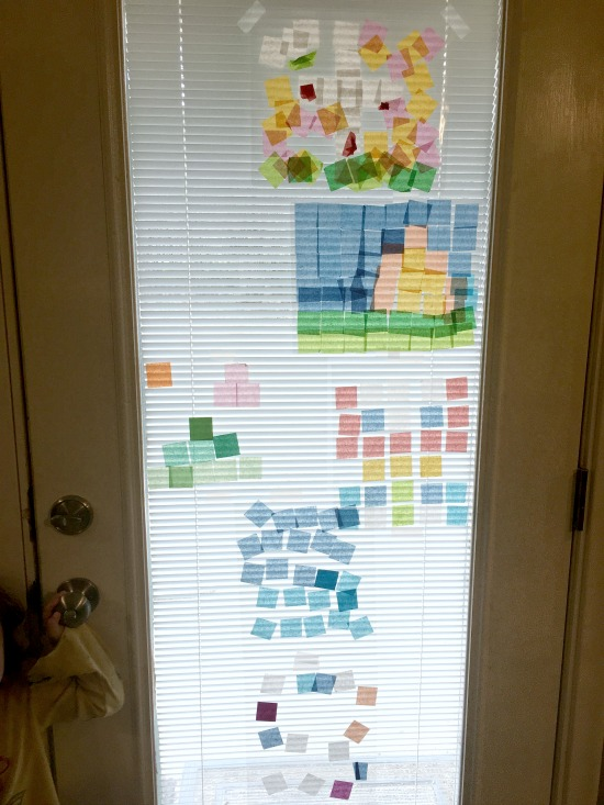 Stained Glass Windows in this week's Large Family Homeschooling Week in Review