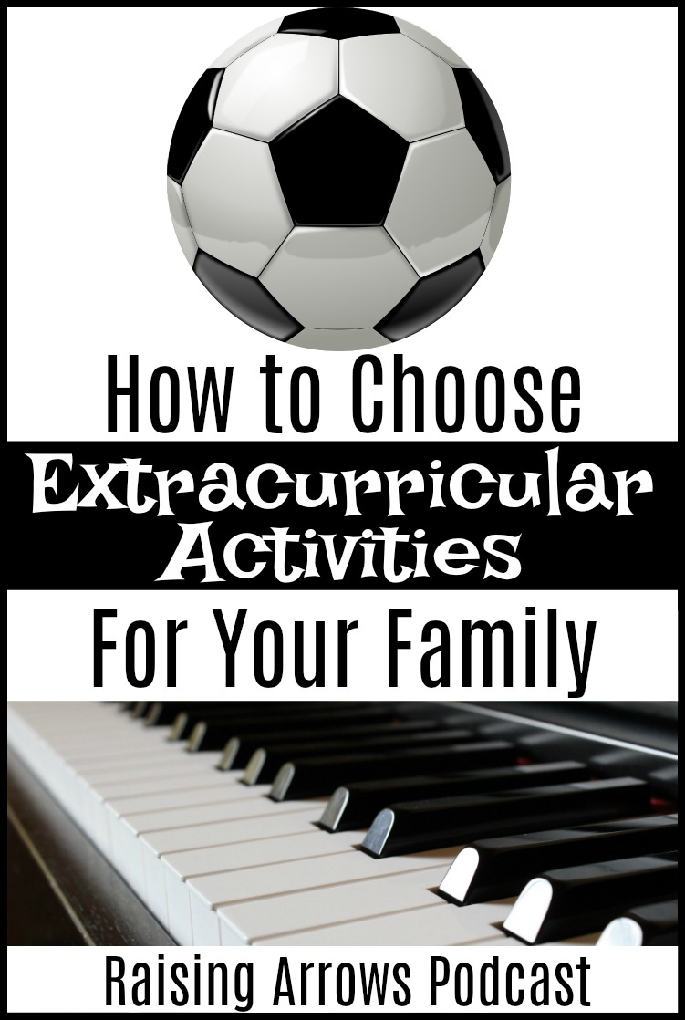 Are extracurricular activities overwhelming you? Learn a better way to choose activities for your family that put the entire family first and build strong relationships within your family rather than pulling you apart!