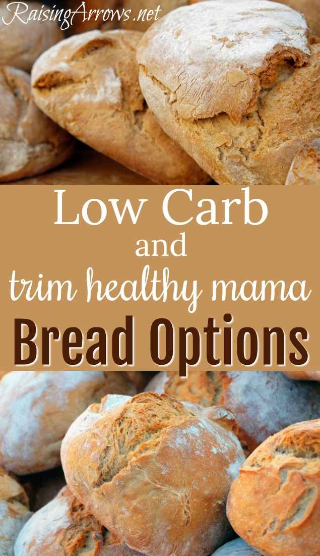 S, E, FP options for easy and delicious low-carb bread!