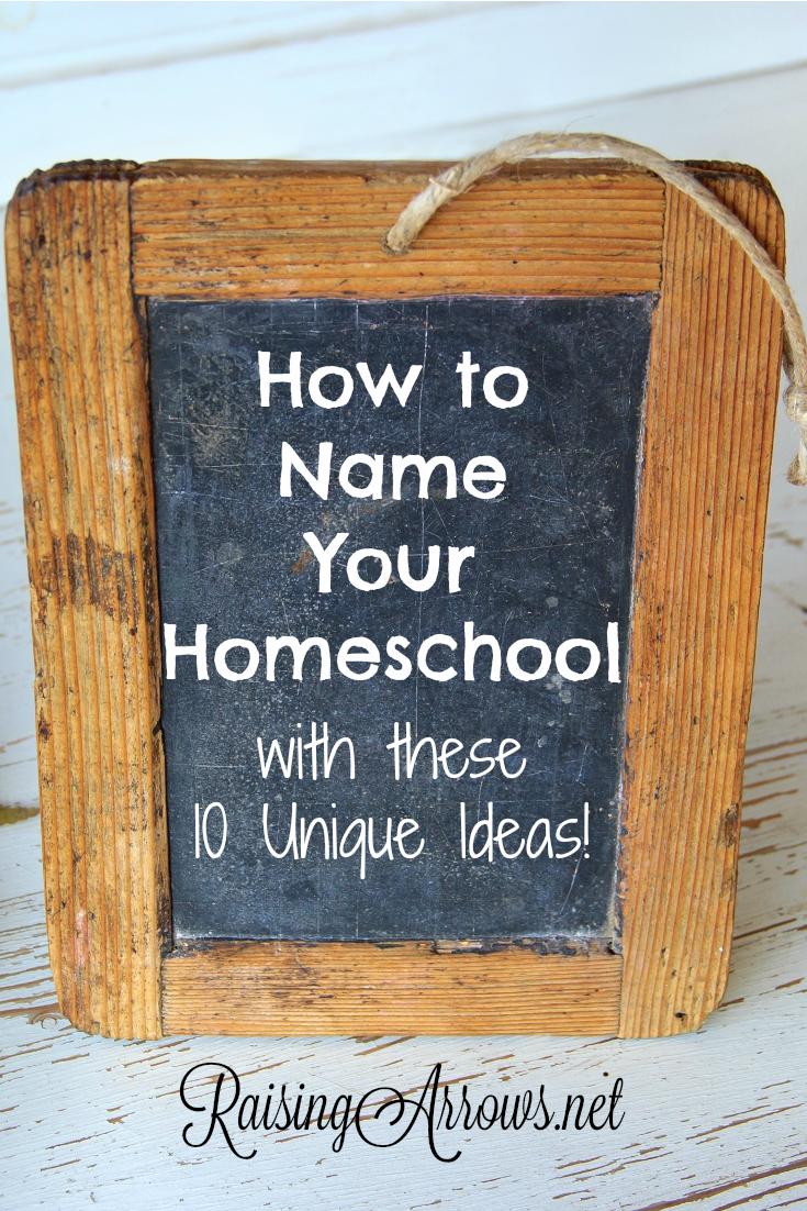 Uncommon Homeschool Names for Your Unique Family