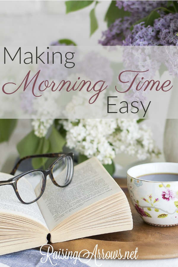 Learn how to create a simple, consistent Morning Time homeschool schedule that keeps your children engaged and doesn't require extensive planning.