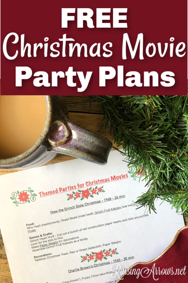 Christmas Movie Party Plans