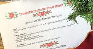 FREE Christmas Movie Party Guide!