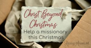 Christ Beyond Christmas – Missionary Gift Ideas