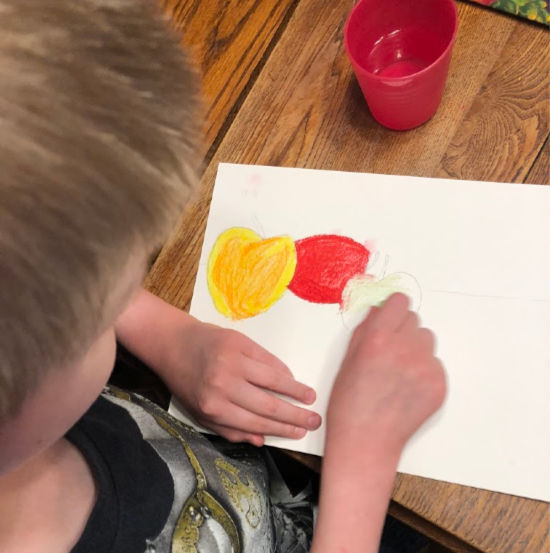 The lessons from Home Art Studio use real art techniques and supplies to excite and inspire kids of all ages! Great for homeschool, Sunday School, or co-op.