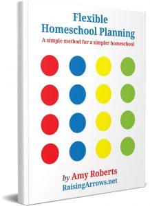 Flexible Homeschool Planning - a book to help you plan an ever-changing homeschool schedule.
