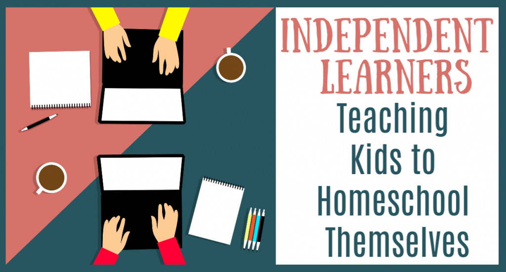 Tools to motivate and challenge your homeschooled children to learn how to work on their own and take responsibility for their educational experiences.