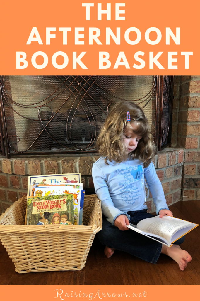 Introduce your children to lovely, living books by gathering a basket full of twaddle-free books for them to read and delight in during the lazy summer afternoon hours!