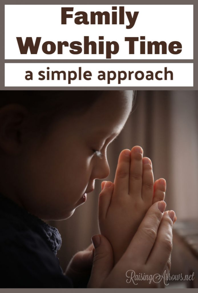 Get fresh and simple ideas for family worship time with multiple ages of children and varied seasons of life! Don't overcomplicate this special family time!