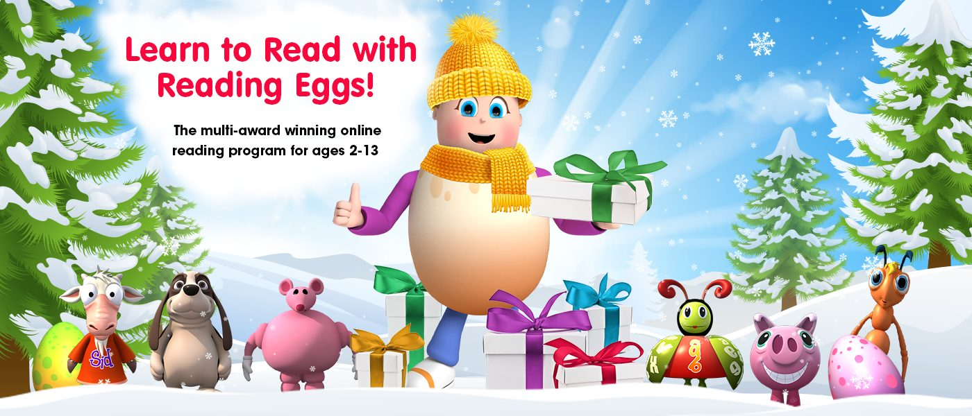 Reading Eggs for Christmas (a fun way to learn!)