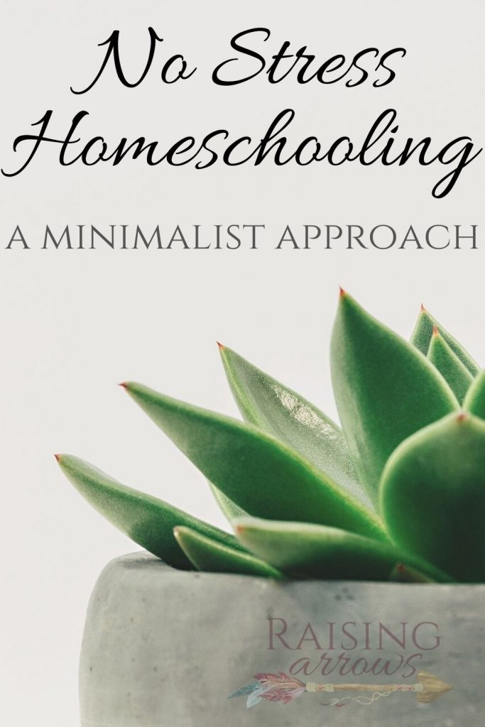 Take the stress out of homeschooling with these 7 questions. Learn how to take a minimalist approach to education and curriculum!