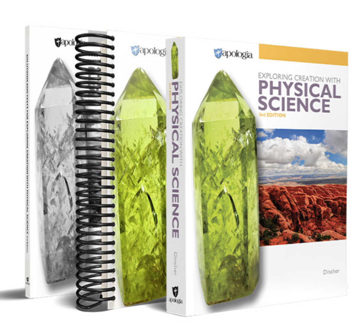 If you are looking for a rigorous homeschool science curriculum from a Christian worldview that doesn't take a lot of preparation and can be done independently, Apologia is your answer!