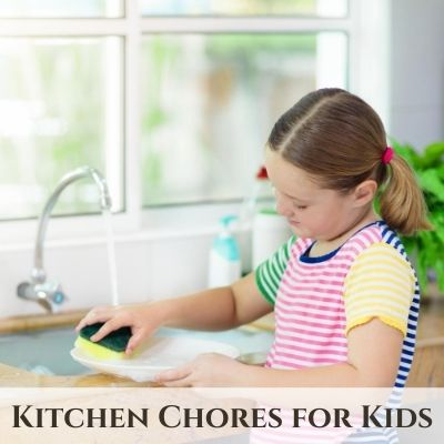 Children's Chores for the Kitchen & Dining Room