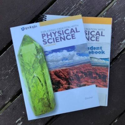 Review of Apologia Physical Science 3rd edition