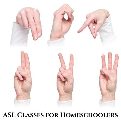 American Sign Language Classes for Homeschoolers