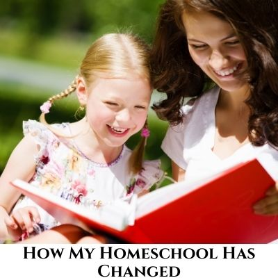 How My Homeschooling Has Changed Over the Years – Podcast #94