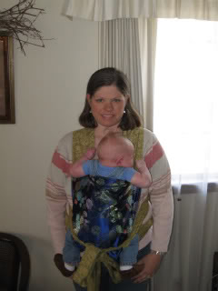 Fancy silk embellished mei tai - DIY Baby Carriers | RaisingArrows.net