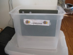 Perfect Homeschool Workbox System for Small Spaces or a Large Family