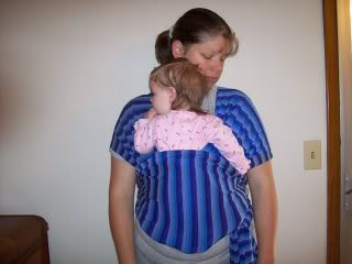 knit wrap - DIY Baby Carriers | RaisingArrows.net