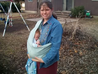 Pouch sling - DIY Baby Carriers | RaisingArrows.net
